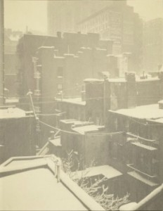 ALFRED STIEGLITZ From the Back-Window, - '291', 1915 Christie's, New York 31 March 2015 Lot 237 Estimate $250,000 - $350,000 Sold $473,000