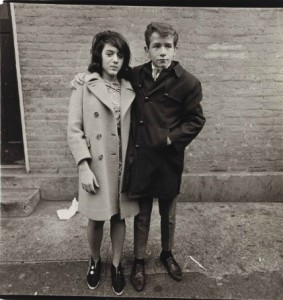 DIANE ARBUS Teenage Couple on Hudson Street, N.Y.C., 1963 Estimate $80,000 - $120,000 Sold: 209,000