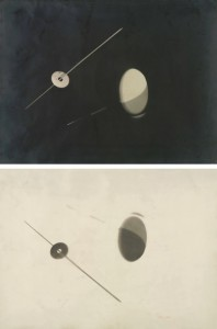 LÁSZLÓ MOHOLY-NAGY Negative/Positive Photogram Pair Sotheby's, New York 1 April 2015 Lot 66 Estimate: $200,000 – $300,000 Sold: $270,000