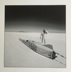 Steve De Pinto, Flat Out, AP (Silver Print)—Thought he had a record; realized after that he forgot to drop the gear.