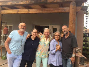 Visiting Santa Fe with the Scheinbaum Russeks