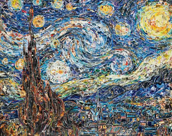 vik-muniz-starry-night-after-van-gogh-from-pictures-of-magazines-2