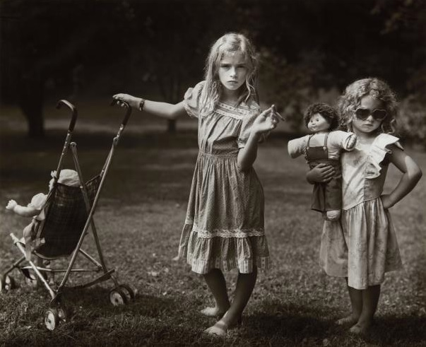 Sally Mann, The New Mothers, 1989